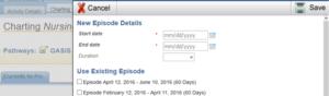 New Episode screenshot