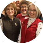 3 members of Staff at Bismarck Burleigh Public Health smiling