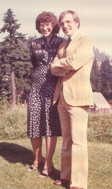 Dave & Deb in 1981