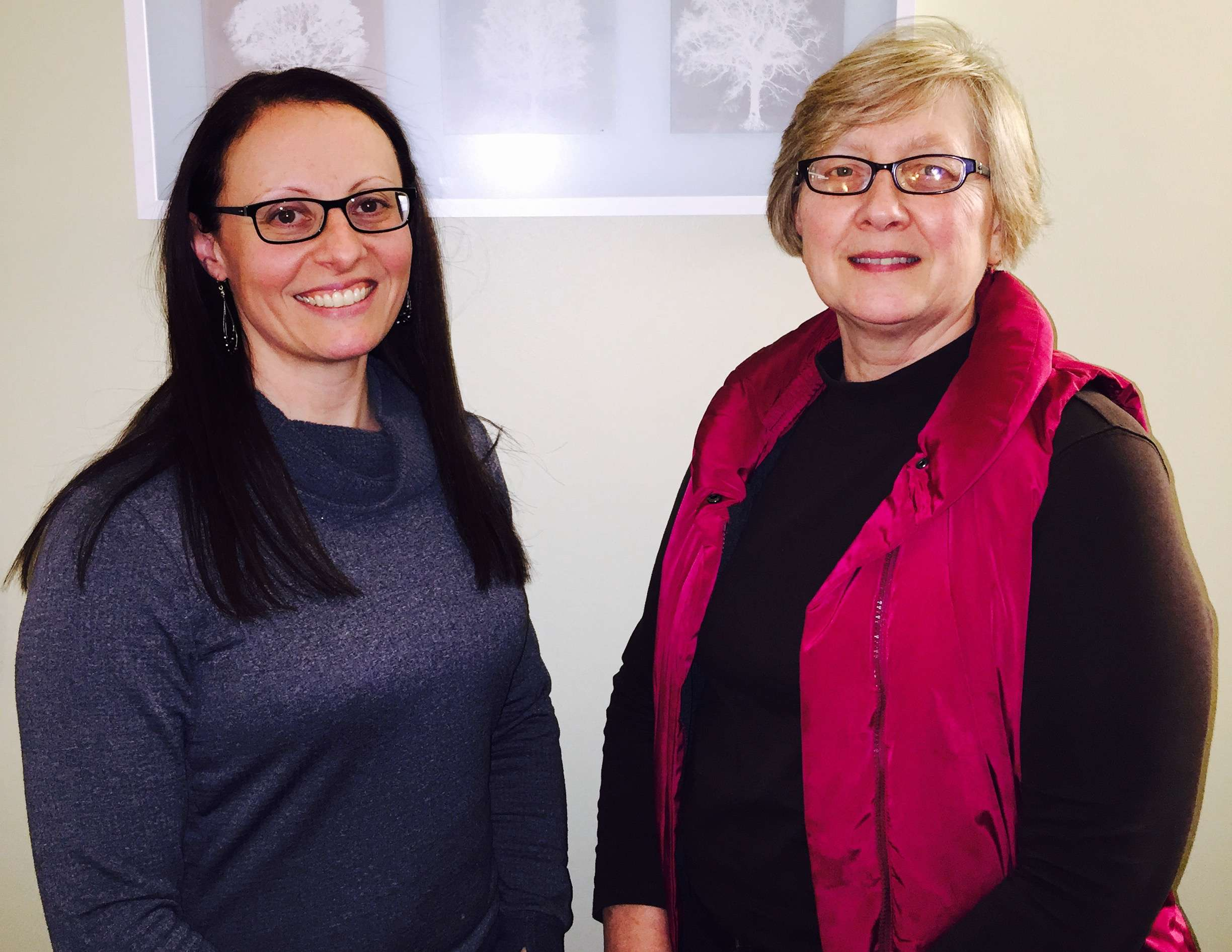 oanne Esparmer, Public Health Supervisor for Family & Community and Patti Martin, Public Health Supervisor for Long Term Care of Carlton County Health & Human Services