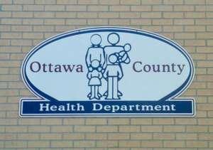 Ottawa County Health Department, KS logo sign