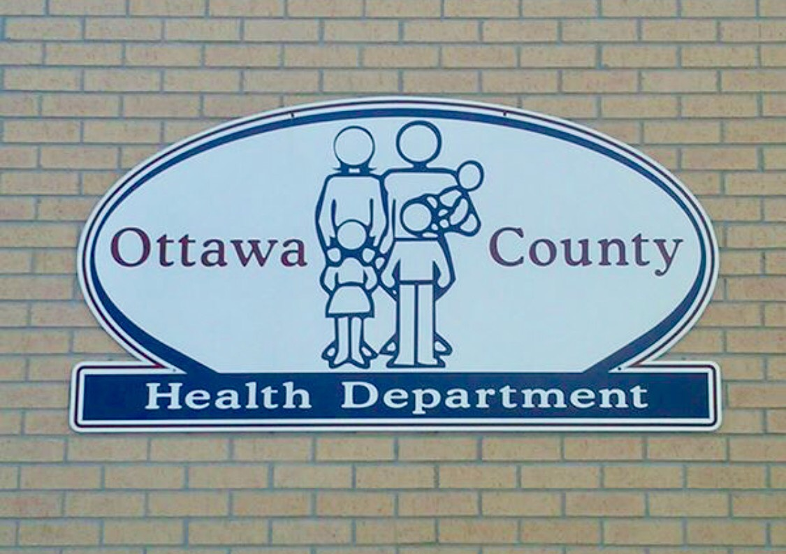 Ottawa County Health Department, KS logo sign
