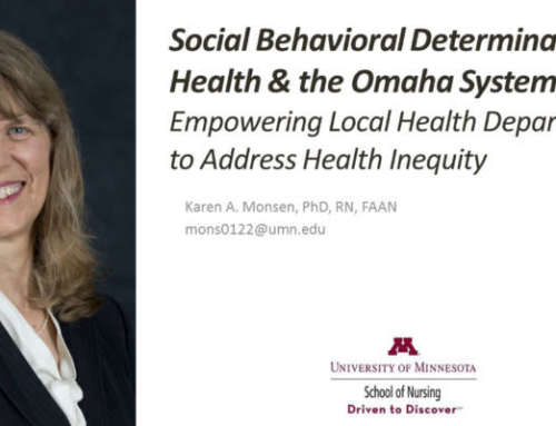 Karen Monsen, PhD, RN, FAAN to Make Exciting Presentation on SBDH at Upcoming PH Conference