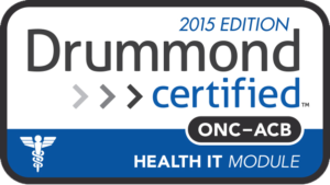 2015 Edition Drummond Certified EHR Seal