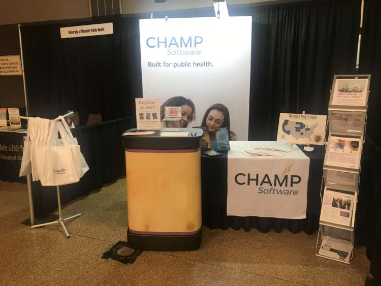 Champ Software Conference Booth